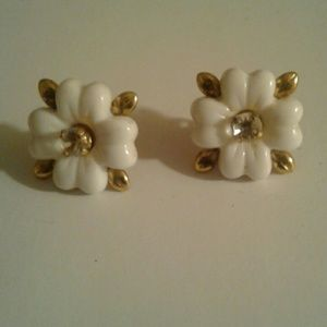 Unique Earrings wear them 3 ways Floral or Studs